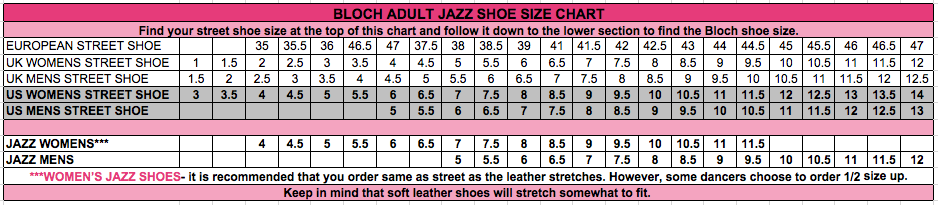 Bloch Super Jazz Shoes In Toddler Sizes